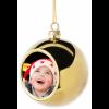 Χριστουγεννιάτικο στολίδι με φωτογραφία.