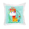 Προσωποποιημένο μαξιλάρι λευκό Eco-Soft με φωτογραφία ή μήνυμα.